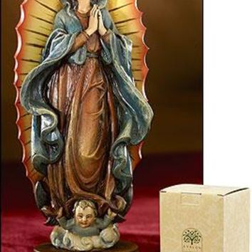 """6"""" Our Lady Of Guadalupe Statue"""