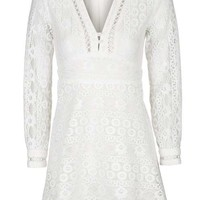 Lace Mini Dress - Sale & Offers
