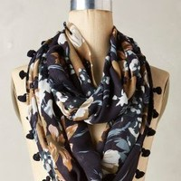 Ueno Infinity Scarf by Anthropologie in Navy Size: One Size Scarves