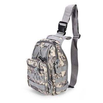 9 Color 600D Military Tactical Backpack Shoulder Camping Hiking Camouflage Bag Hunting