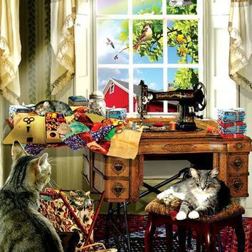 The Sewing Room 1000pc Jigsaw Puzzle