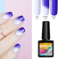 10ML Thermos UV Nail Gel Polish Temperature Change Color UV Nail Polish Long Lasting Led Nail Paint Chameleon Varnish