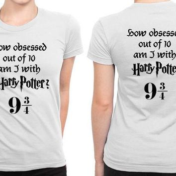 DCCKG72 How Obsessed With Harry Potter Am I B 2 Sided Womens T Shirt