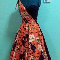 Ashleeta - 1950's Bespoken Halloween Dress | Custom Fit