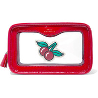 Anya Hindmarch - Rainy Day Perspex and patent-leather cosmetics case