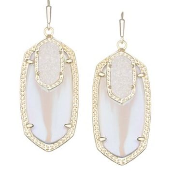 Emmy Drop Earrings in Stellar Slate - Kendra Scott Jewelry
