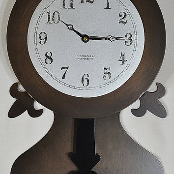 Pendulum Wall Clock From Moonladders Amazing Wall Clocks