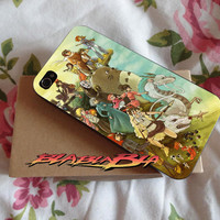 Studio Ghilbi Characters design for iPhone 4/4s Case, iPhone 5/5s Case, iPhone 5C Case, Samsung S3 i9300 Case, Samsung S4 i9500 Case