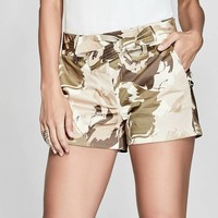 Camo Floral Short at Guess