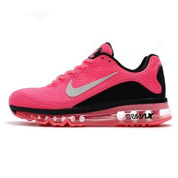 NIKE Airmax Trending Women Men Leisure Running Sport Shoes Sneakers Pink I