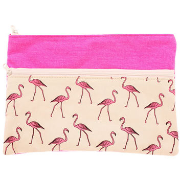 Mooloola Flamingo Pencil Case