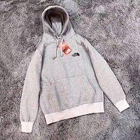 The North Face Women Hoodie Embroidery Logo Top Sweatshirt Sweater