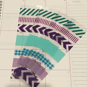 FREE SHIPPING A3 Washi stickers for Erin Condren Life Planner/Plum Paper Planner