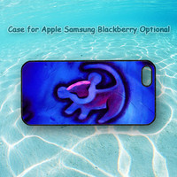 Lion King for iphone 5 case, iphone 4 case, ipod case, Samsung note 2, Samsung galaxy S3, Samsung galaxy S4, blackberry Q10, blackberry z10