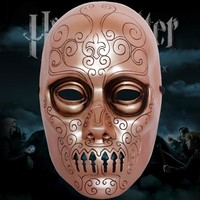 Mask the Movie Theme Harry Potter Death Eaters for Party Halloween Christmas Cosplay Resin Mask Adults Full Face Free Shipping