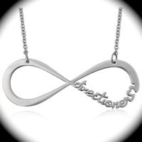 INFINITY FOREVER DIRECTIONER - Infinity One Direction Necklace - PreOrder - Infinite 1D British Boy Band