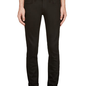 Naked And Famous Denim Black Power Stretch Supper Skinny Guy Jeans