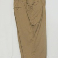 New Direction Size 22W Beige Cropped Capri Pants