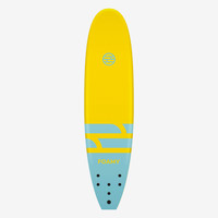 9' Duke Yellow & Turquoise Foam Surfboard