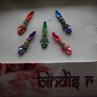 Bindis Jewelry Stickers for Forehead Decoration