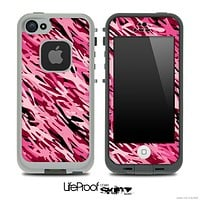 Abstract Pink Camouflage V1 Skin for the iPhone 5 or 4/4s LifeProof Case
