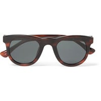 Dries Van Noten - + Linda Farrow Square-Frame Acetate Sunglasses