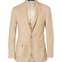 Polo Ralph Lauren - Sand Slim-Fit Linen Blazer | MR PORTER