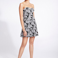 Darling Floral A-Line Dress