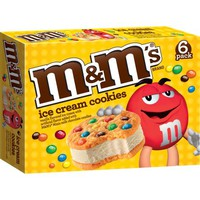 M&M's Ice Cream Cookie, 6 count, 24 fl oz - Walmart.com