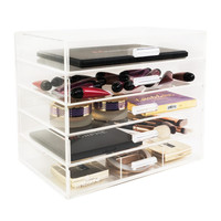 Five Tier Acrylic Makeup Organizer