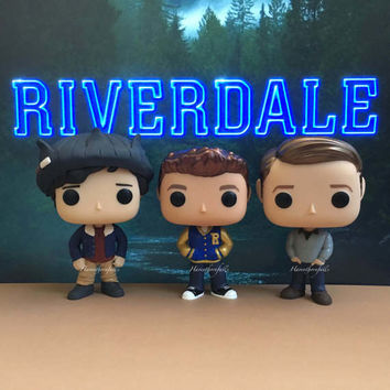 Archie Andrews  / Jughead Jones / Kevin Keller - Custom Funko Pop - Riverdale - Archie Comics