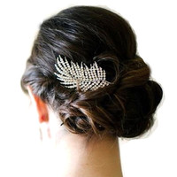 Wedding Hair Comb, Bridal Hair Comb,  Bridal Hairpiece, Bridal Hair Accessories, Bridal Headpiece, Wedding Hair Ornament.