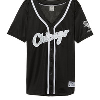Chicago White Sox Mesh Button Down Jersey - PINK - Victoria's Secret