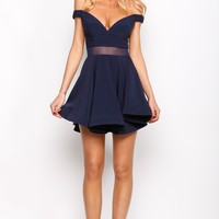 HelloMolly | Not The Only One Dress Navy