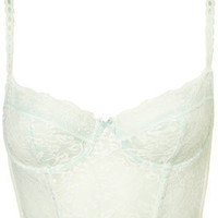 Mint Leafy Lace Bralet - New In This Week - New In - Topshop