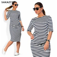 2018 Sakazy Loose Zebra Stripes