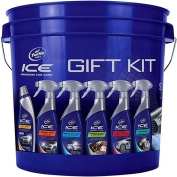 Turtle Wax Ice Premium Gift Kit Bucket - Walmart.com