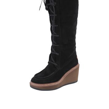 See by Chloe Gore Wedge Boot