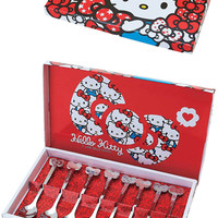 Hello Kitty Spoon and Fork Gift Set