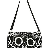 Sugar Skull Mini Messenger Bag - 668021
