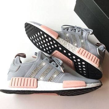 Adidas NMD NMD_R1 W Glittering Breathable Running Sports Shoes Sneakers-4