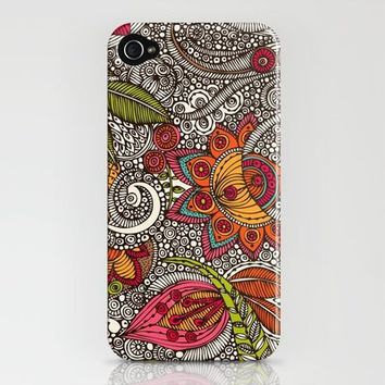 Random Flowers iPhone Case by Valentina Ramos | Society6