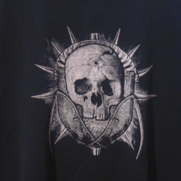 Cool Skull T-Shirt, Size XL. Reconstruction Available!