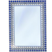 Blue and Gray Mirror