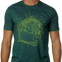 PLANT CELL Tshirt Science Tee MENS shirt by nonfictiontees on Etsy