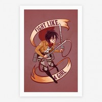 Mikasa: Fight Like a Girl | HUMAN