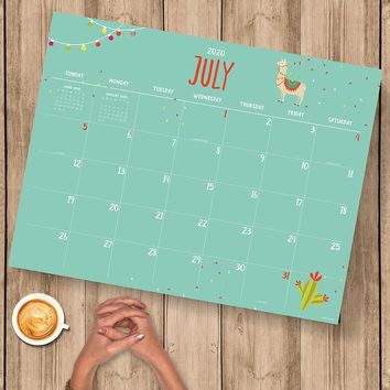Monthly Theme Large Desk Pad