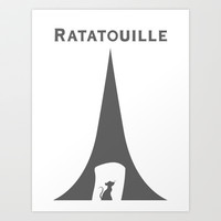 Ratatouille Art Print by Citron Vert