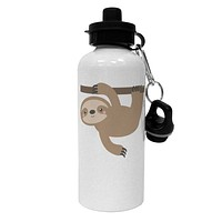 Cute Hanging Sloth Aluminum 600ml Water Bottle