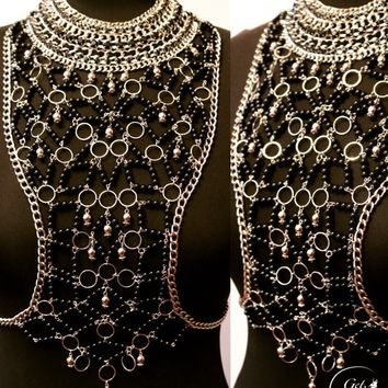 Body Jewelry Aziza, Body Harness